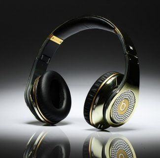 Beats By Dr Dre Studio Electroplating Over-Ear Headphones Chrome ... 10e0a1f6ab0a