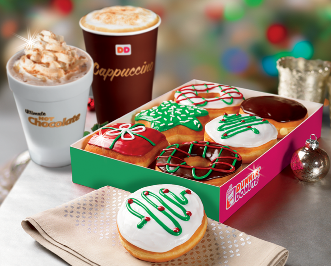 Dunkin Christmas Donuts Christmas Donuts Dunkin Donuts