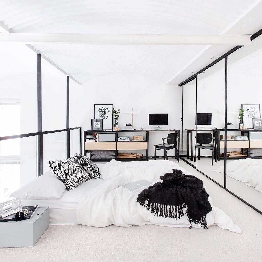 Linxspiration bw bedroom   Ideal home   Pinterest   Bed room and ...