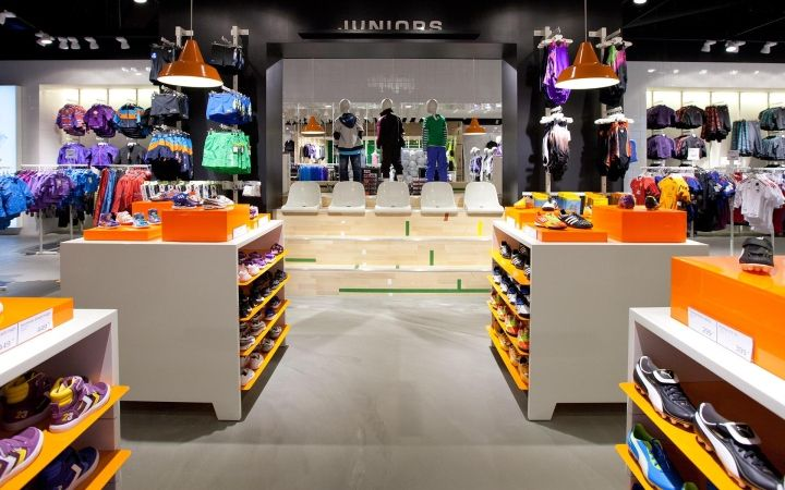 Colluseum Sportswear Store By Riis Retail Odense Denmark Design Blog