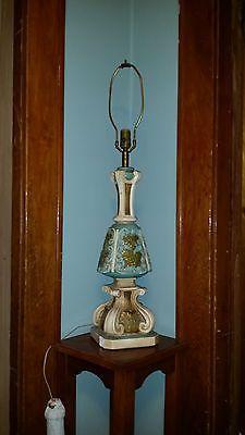 Vintage chalkware/plaster lamp