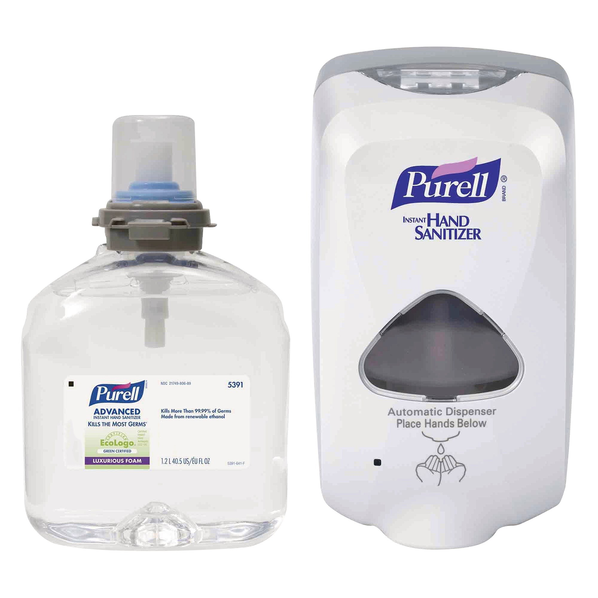 Purell Advanced Instant Hand Sanitizer Foam Tfx Starter Kit 1