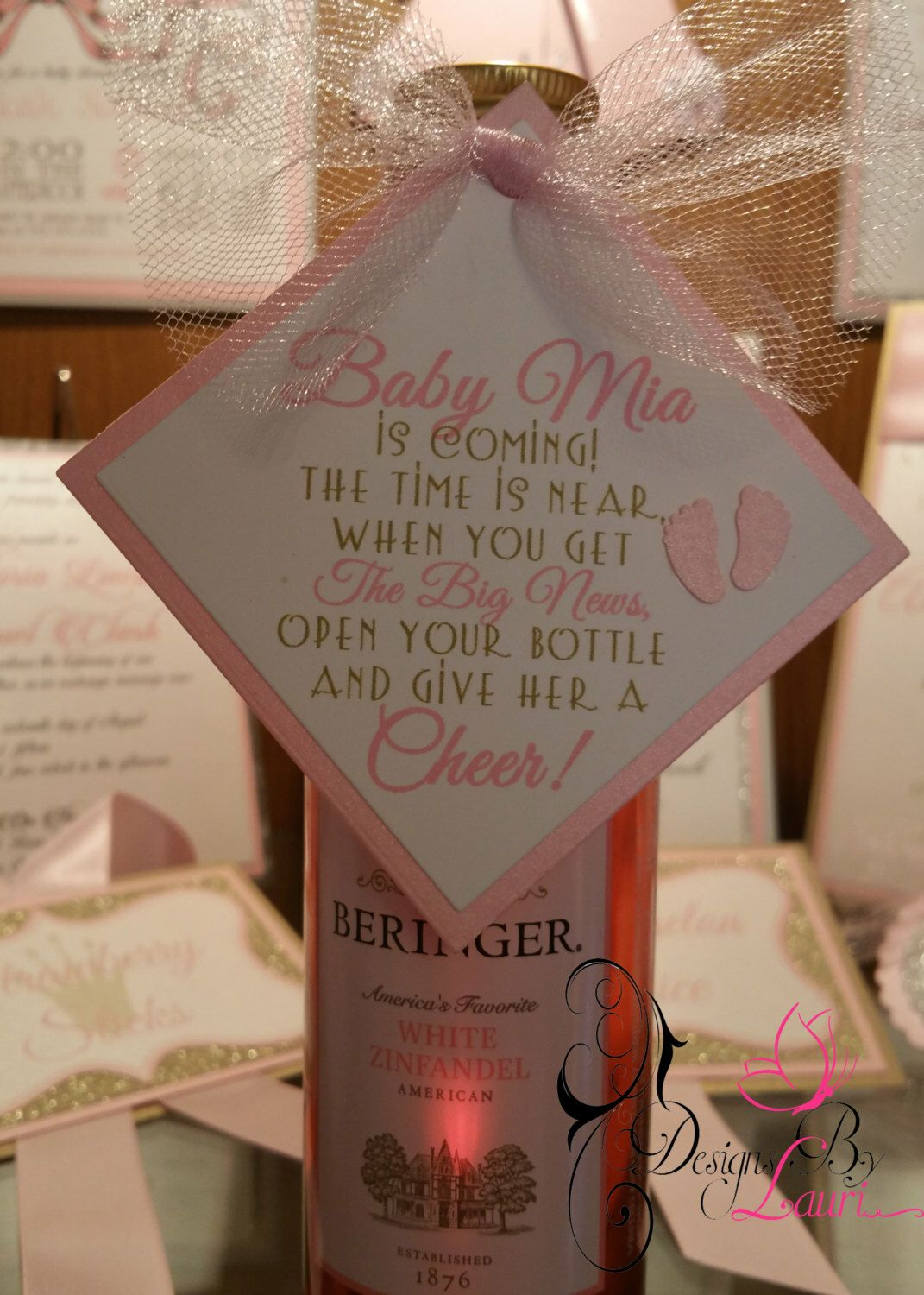 Pin By Elizabeth G On Shower Pinterest Mini Wine Bottles Baby