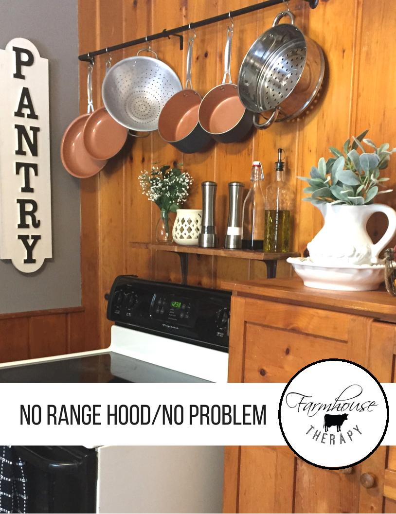 No Range Hood Problem You Can
