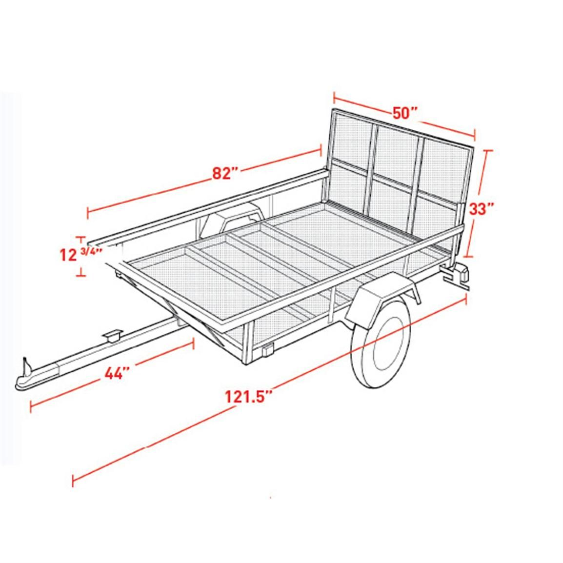 Northstar Sportstar I ATV/Utility Trailer Kit in 2019