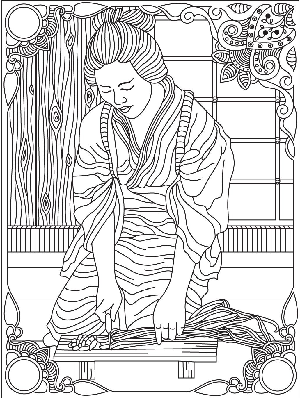 Colouring books for adults japan - Japan Colorish Coloring Book For Adults Mandala Relax By Goodsofttech
