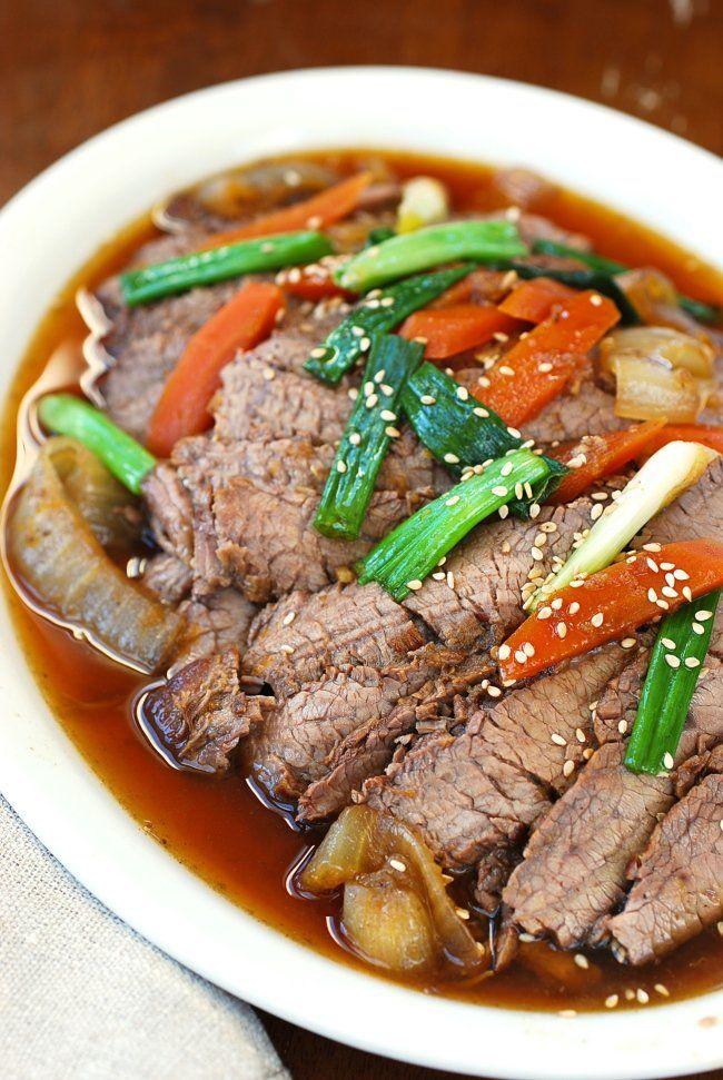 Slow Cooker Beef Bulgogi | Recipe | Slow cooker korean ...