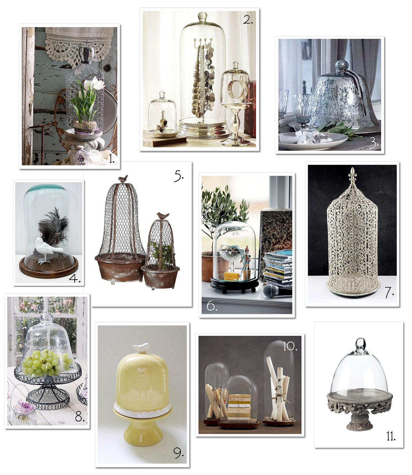 Bell Jar Decorating Ideas Cloches  They're So Timeless In Their Elegance  For The Home