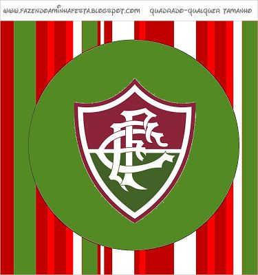 Fluminense - Kit Completo com molduras para convites 446c2d4f87b1f