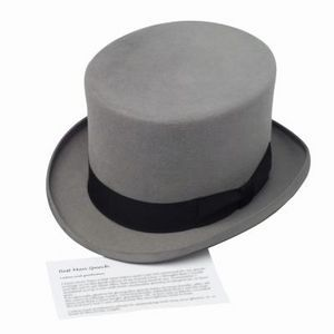 How To Make A Top Hat With Construction Paper Ehow Top Hat Steampunk Hat Mini Top Hat
