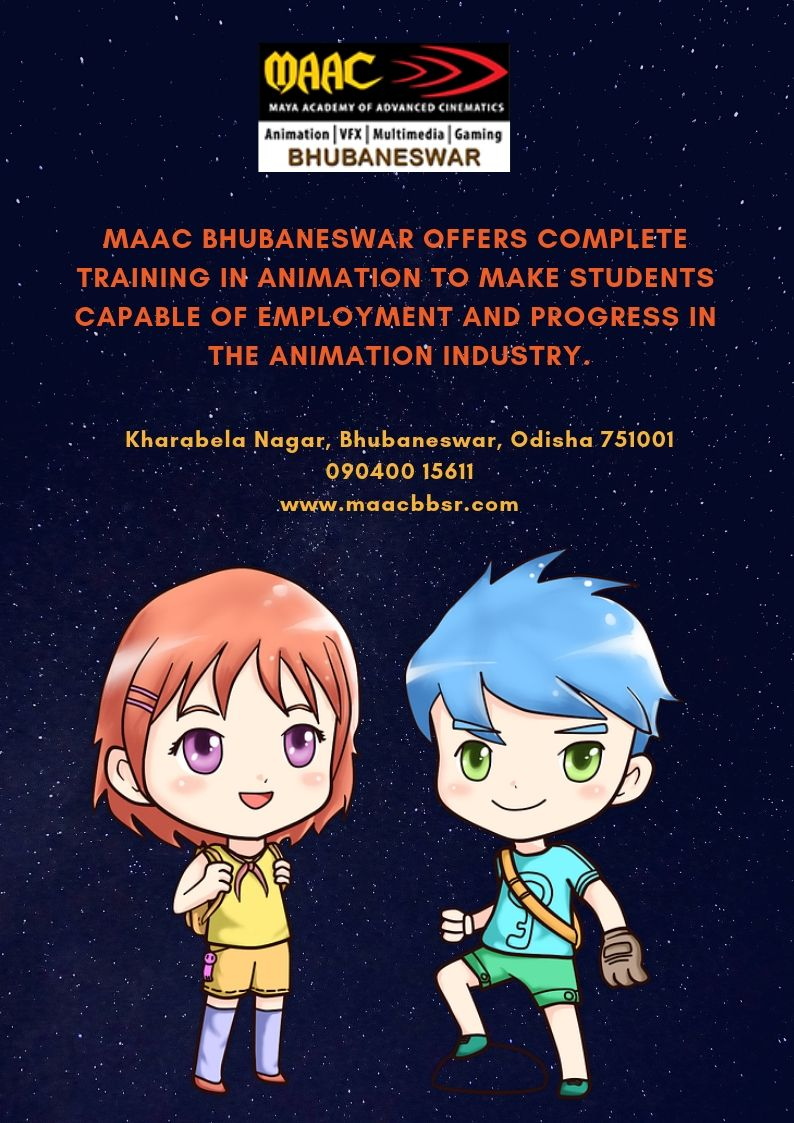 Looking For The Best Best Animation Institute In Bhubaneswar Contact Maac Bhubaneswar Today Animation Institute Animation Cool Animations
