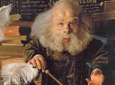 Hpl Filius Flitwick Flitwick Warwick Davis Harry Potter Harry Potter