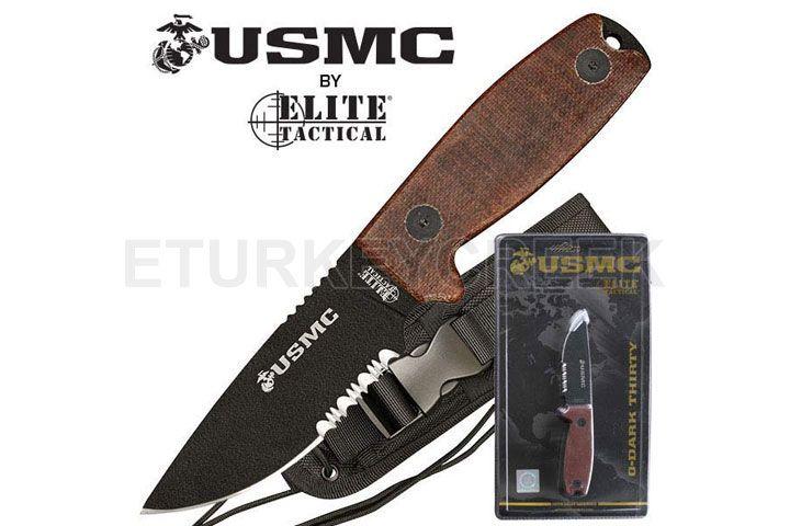 U.S. Marines by MTech USA USA M-1022TNCS FIXED BLADE KNIFE