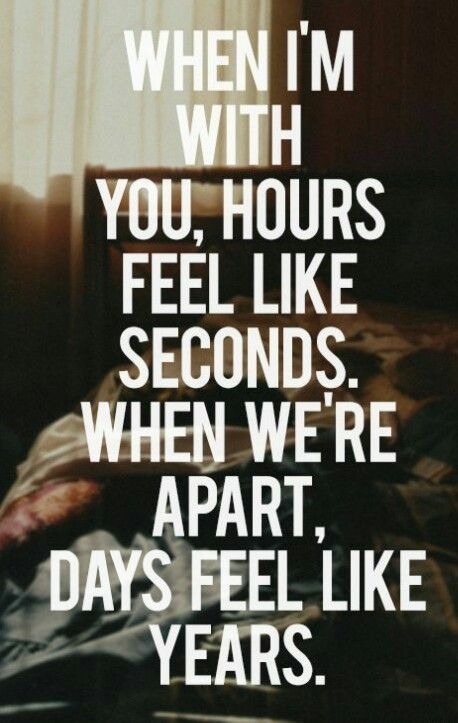 I Hate Being Away From You Quotes Love Quotes Relationship