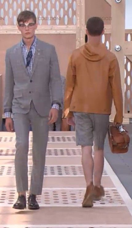 www.scentedlife.it fav #LouisVuittonSS14 looks: Geometric cuts meets Boyscouts meets French Provence meets Vintage Hamptons