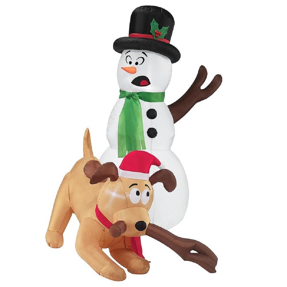 Inflatable Dog Christmas Decoration - Home Decorating Ideas