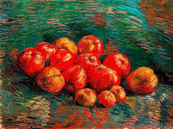 Vincent van Gogh - Stilleben mit Äpfeln