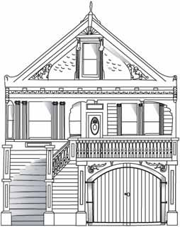 Drawing Houses Step By Step   Google Search