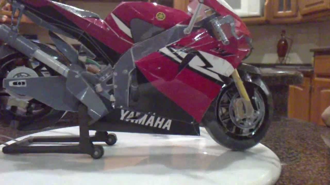 Yamaha yzr m bike papercraft papercraft and crafts yamaha yzr m bike papercraft jeuxipadfo Choice Image