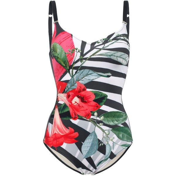 Swimsuit Parah 160 Liked On Polyvore Featuring Swimwear One