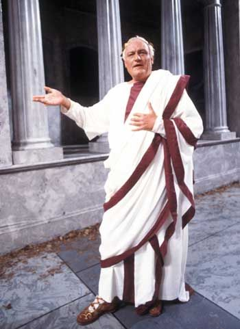 Image result for roman senator in toga
