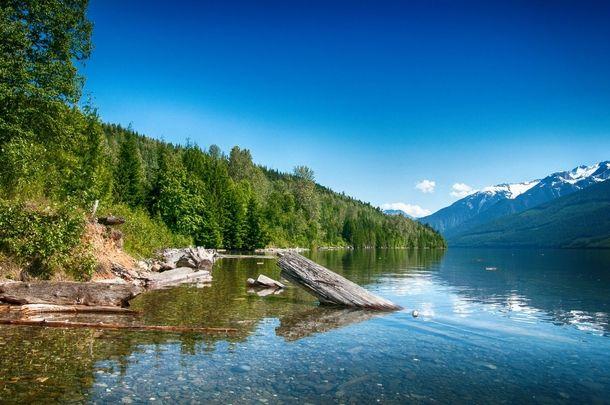 One of my favourite camp spots Lake Revelstoke British Columbia Canada  #landscape #favourite #camp #spots #lake #revelstoke #british #columbia #canada #photography