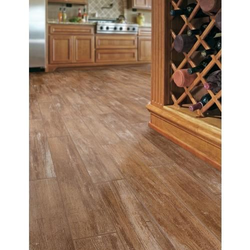 Love How It Looks Just Like Wood, But It's Tile! This Is