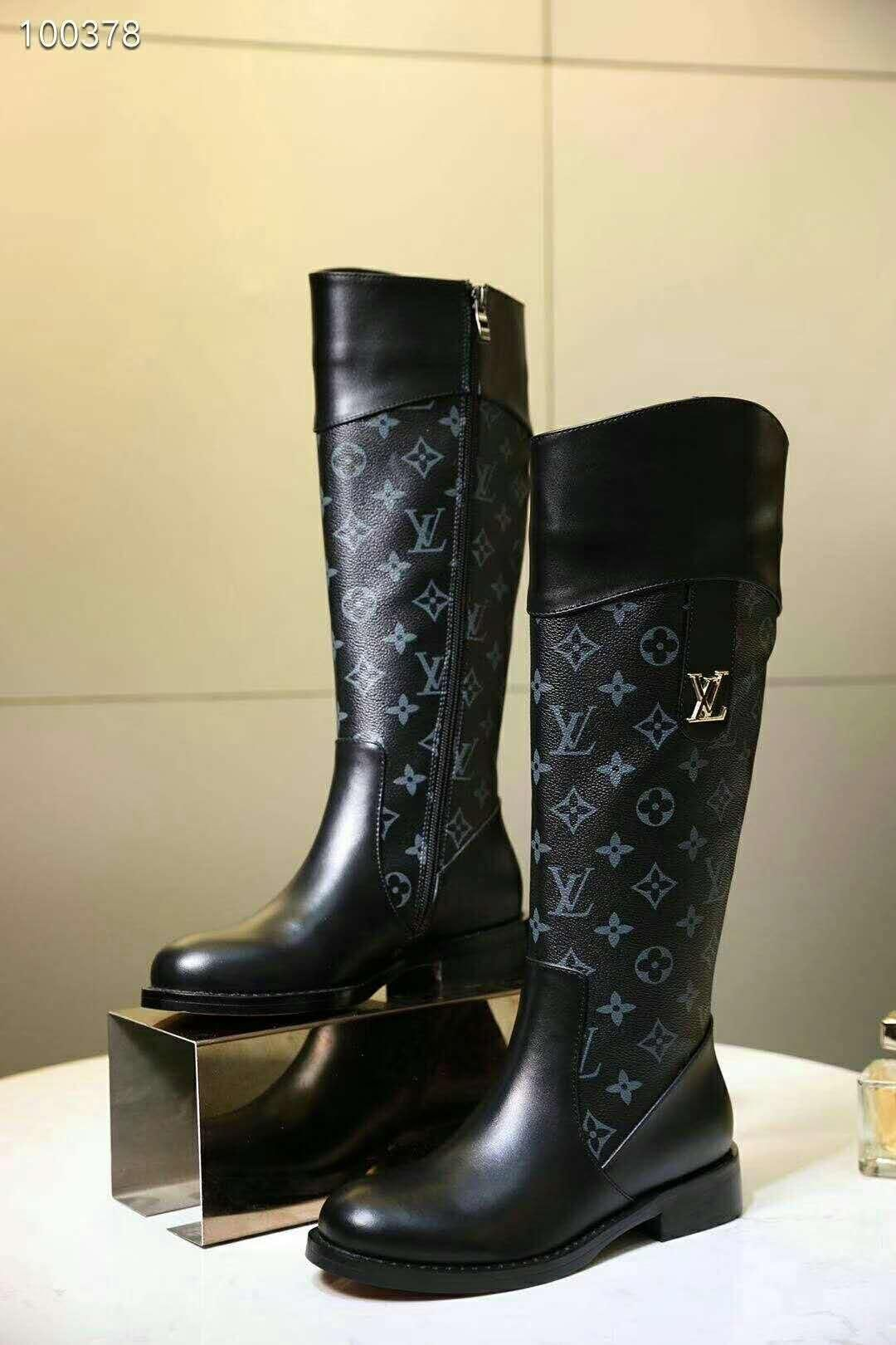 2018high Quality Ladies High Boots High