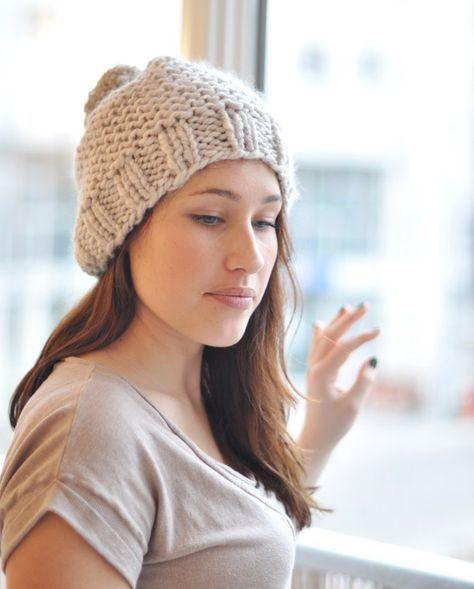 4834adbd1a78 La Mercerie du Faubourg aime ce Bonnet minutes (explications)   Julypouce  tricote