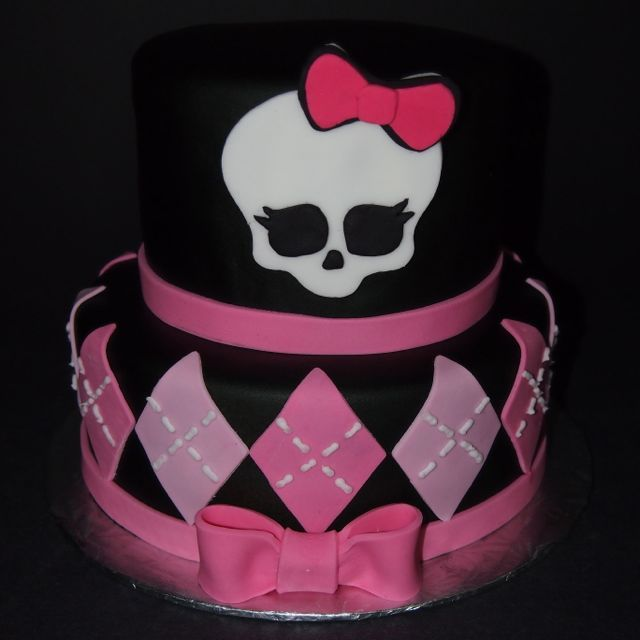 Très monster high birthday cakes   Monster High Birthday Cake  RB33