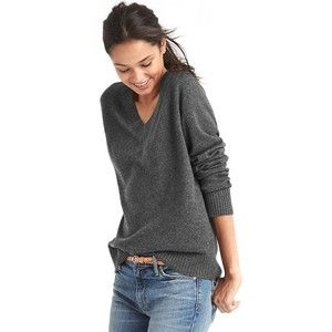 Gap Women Wool Cashmere Blend V Neck Sweater | Clothes | Pinterest ...