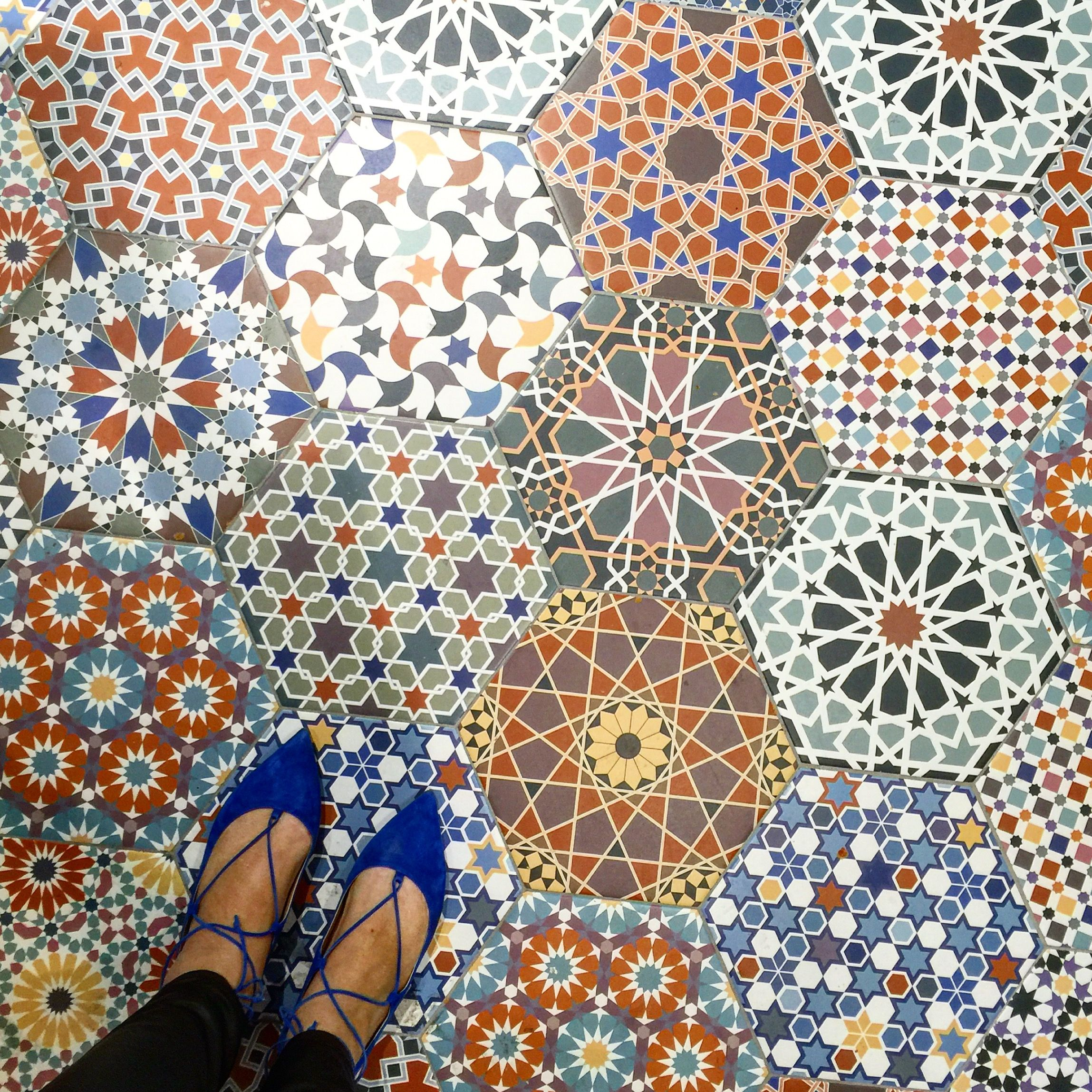 Floor mats in spanish - Spanish Tile For Miles At Cevisama Part 2 The English Room