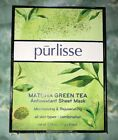 Photo of Purlisse Matcha Green Tea Antioxidant Sheet Mask pack of 6 New in Box #SkinCare …