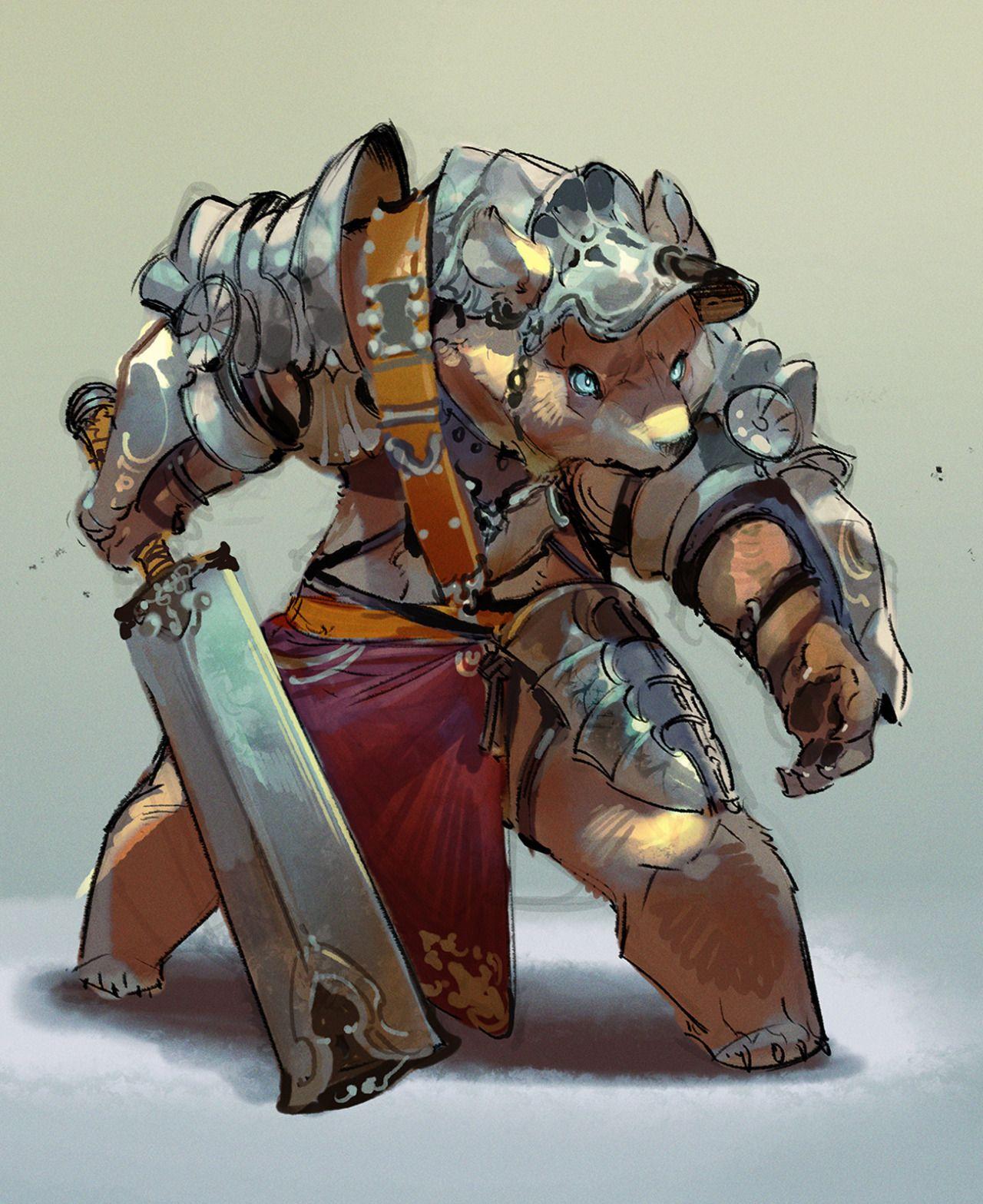 Yuck Character Design : The art of animation ryota murayama knights armor