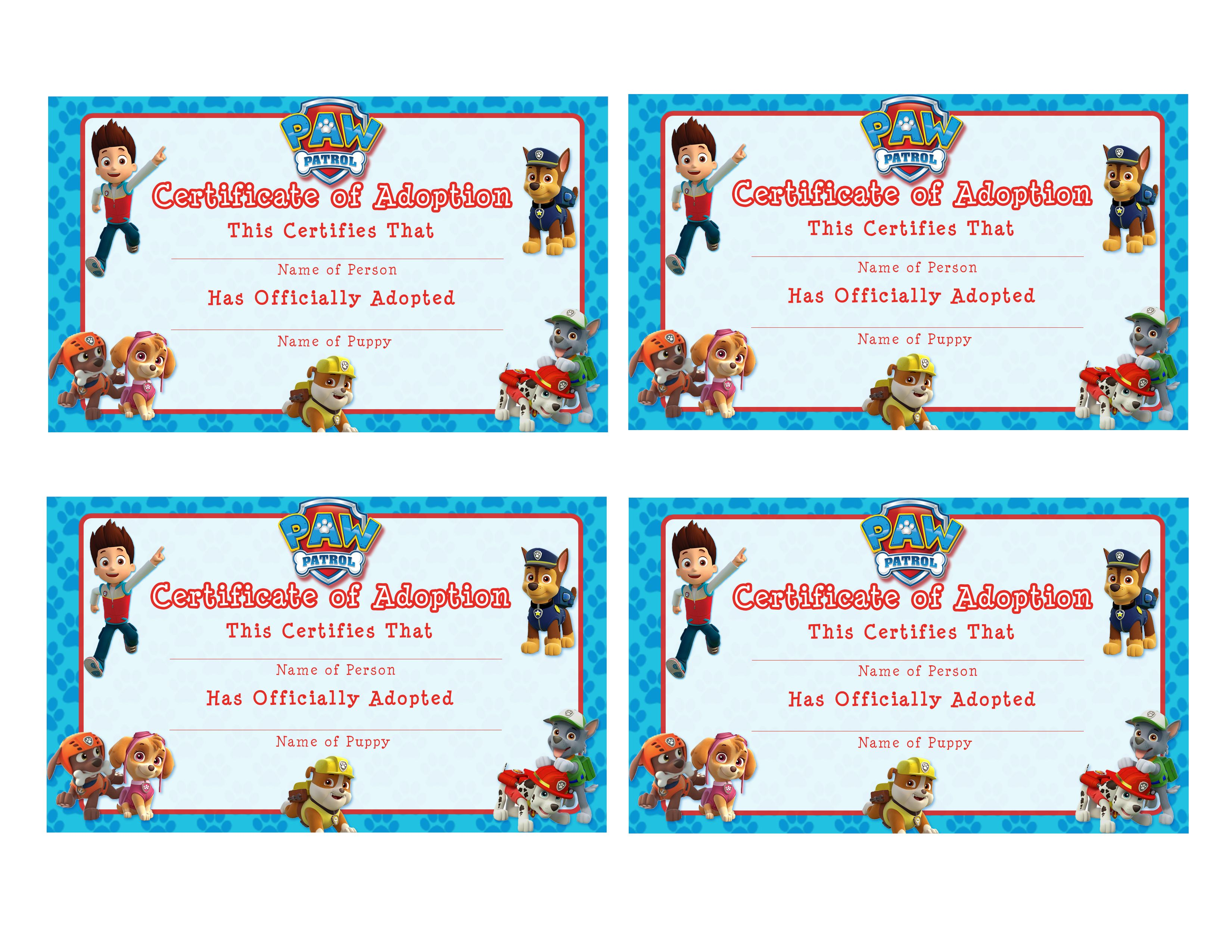 Free Printable Adoption Certificate Chicken 3d House Drawing