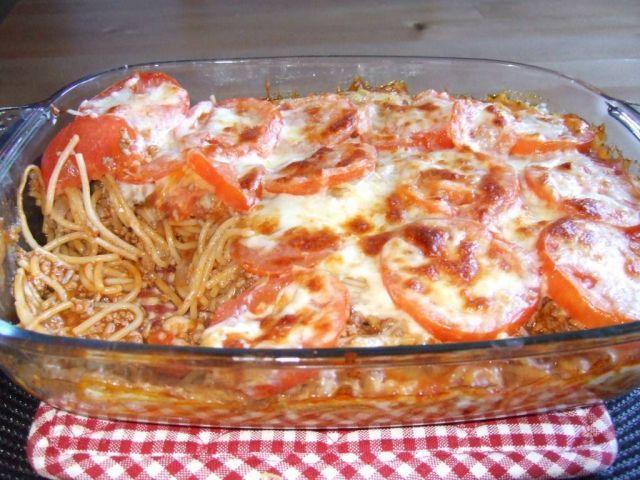 Spagettipaistos - Kotikokki.net - reseptit