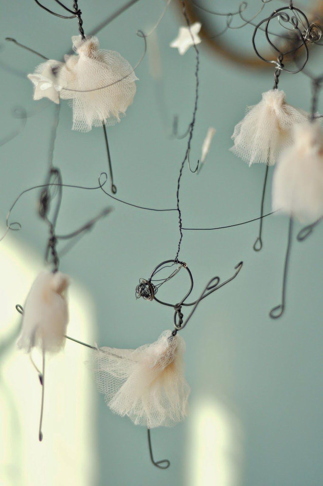 las margaritas blancas | Figures | Pinterest | Wire art, Wire craft ...