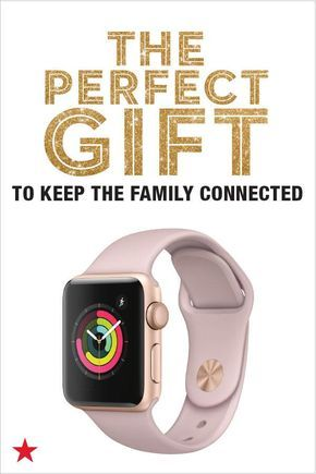 This holiday season, stay connected with Apple Watch! They'll love unwrapping such a thoughtful present. Because the perfect gift brings people together. For more inspiration, check out Macy's Holiday Gift Guide for an expertly edited collection of the perfect gifts.