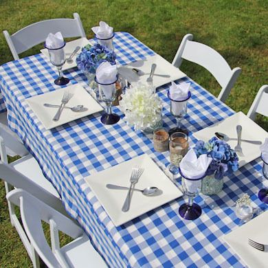 Eating Out 10 Essentials For Alfresco Dining Gingham Tablecloth
