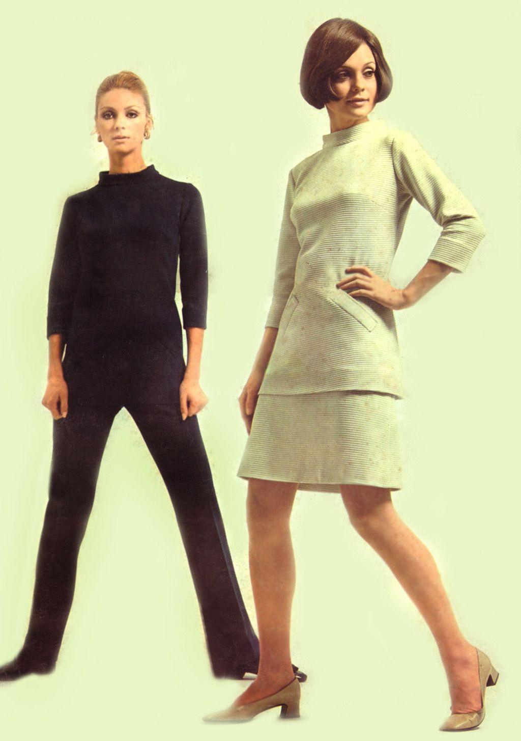 mode femme 1969 1 gl r f rences ann e 69. Black Bedroom Furniture Sets. Home Design Ideas