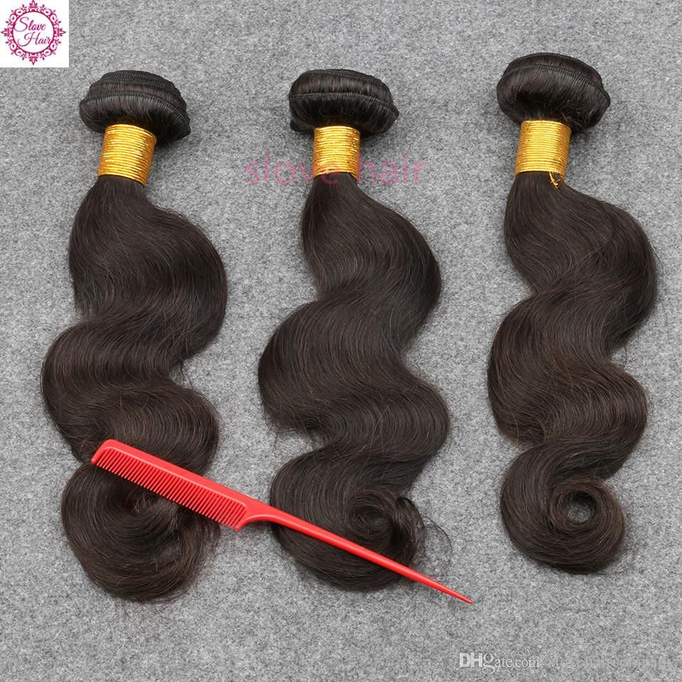 Brazilian Hair Weave Body Wave Unprocessed Hair Wefts Indian