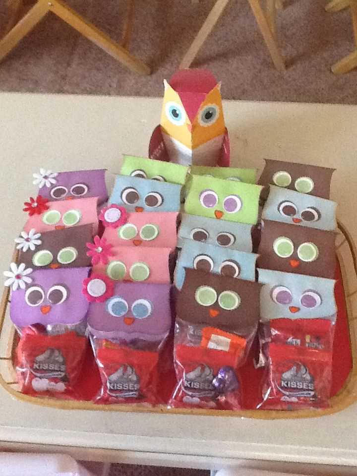Owl Candy treats for kids.