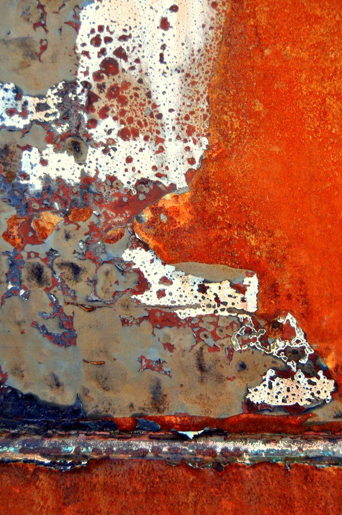 Contemporary abstract composition using digital images of rusted and weathered metal surfaces. Using digital photography images, the high quality giclee print is created in the studio using archival p More