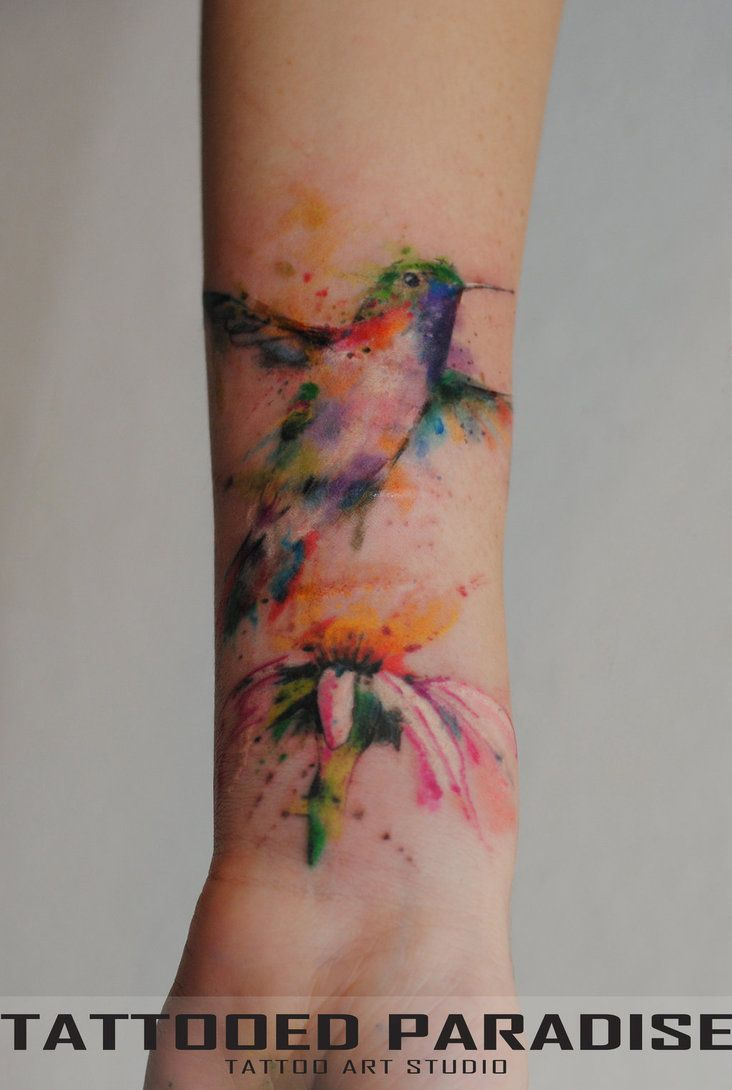 Artist Dopeindulgence Illustration Hummingbirds Body Art