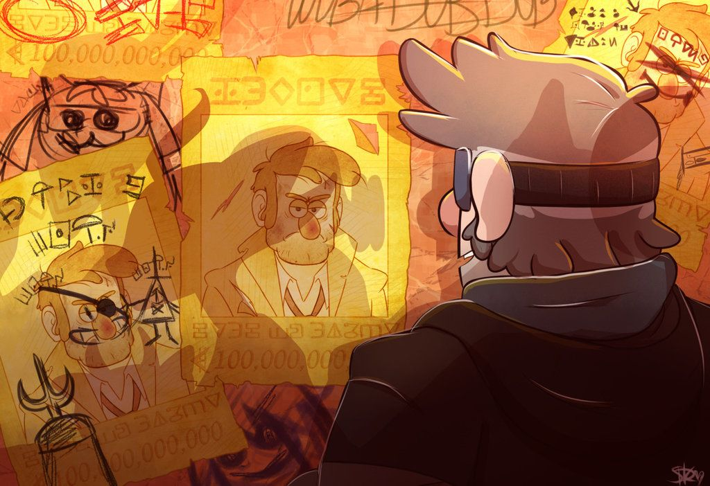 Interdimensional Wanted Criminal Stanford Pines by Invader-Zimie on DeviantArt