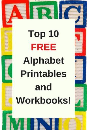 Free Printable Preschool Alphabet Worksheets Preschool Pinterest