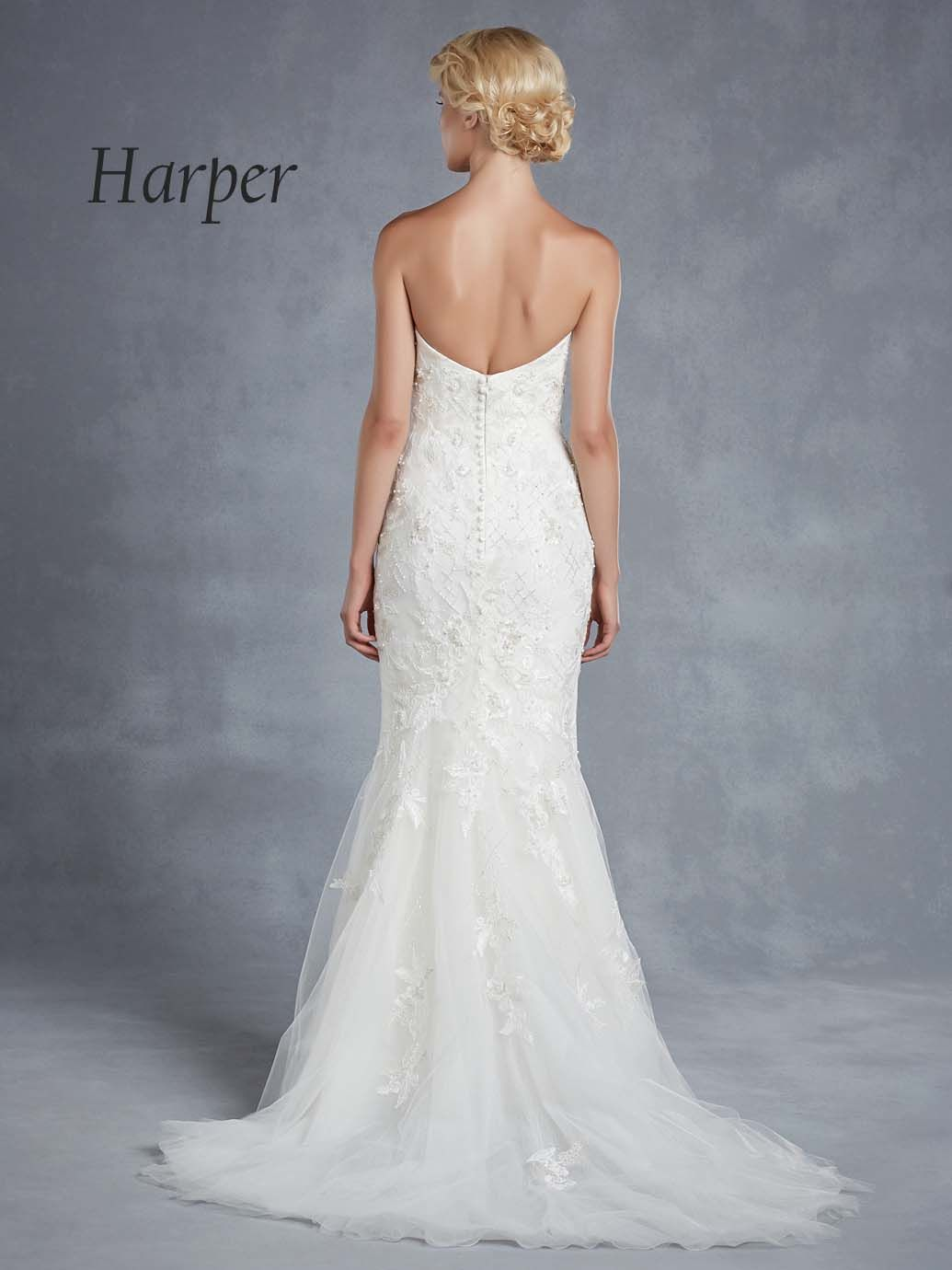 HARPER | Blue by Enzoani : The 2015 Collection | Pinterest | Wedding ...