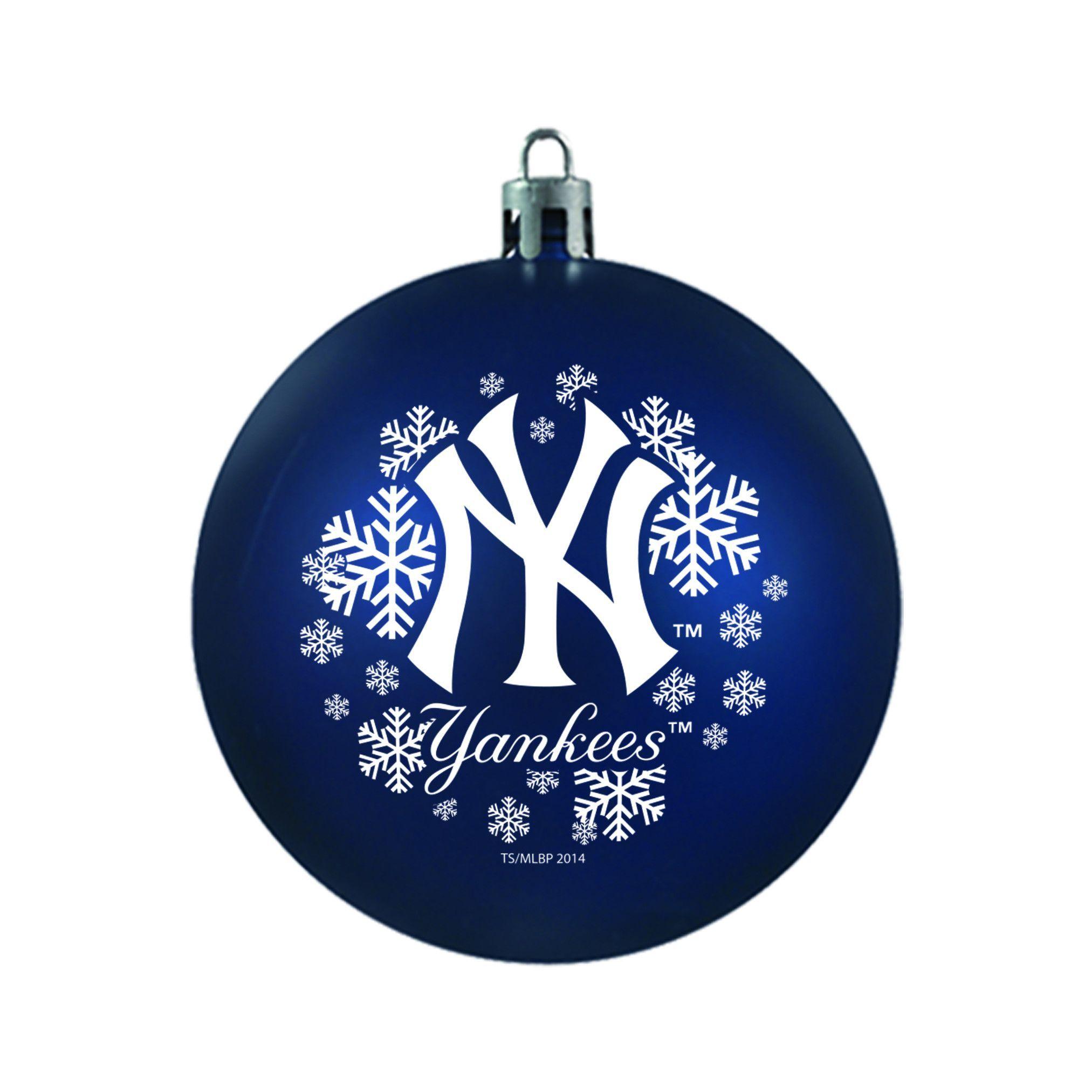 New! New York Yankees Topperscott Shatterproof Ornament ...