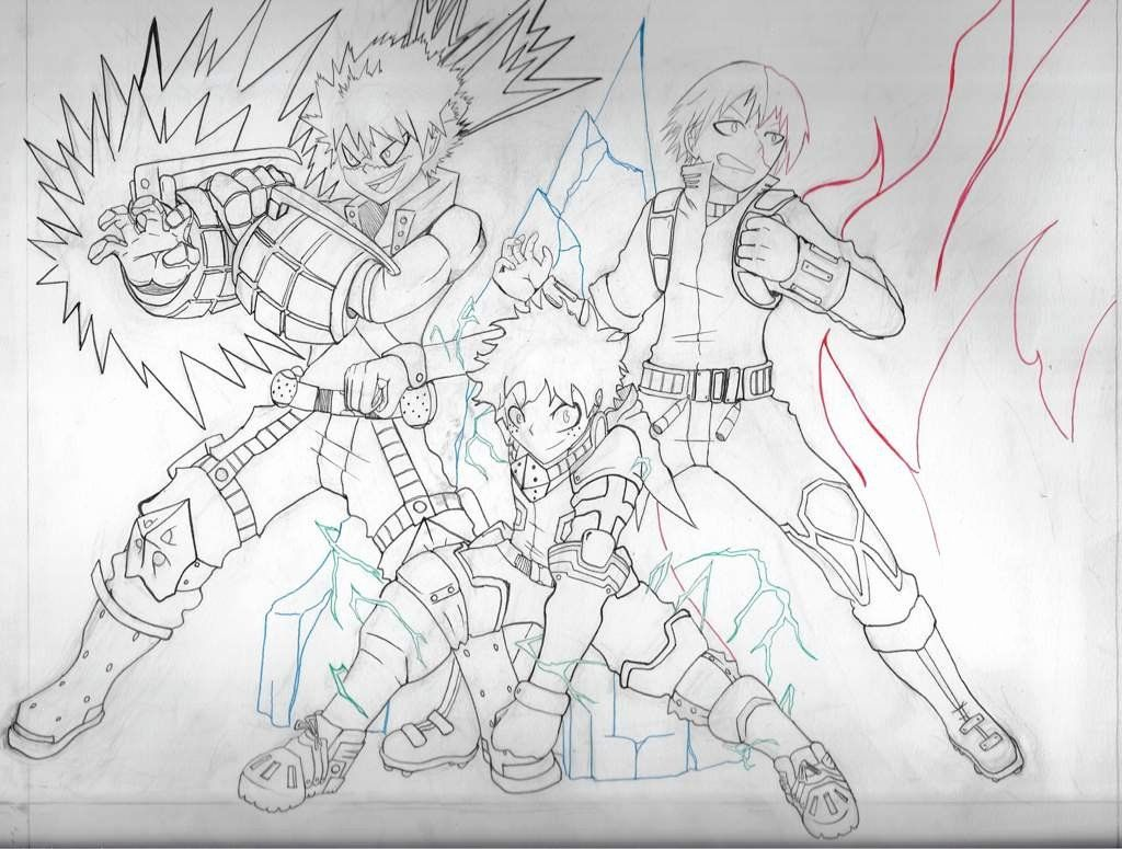 Free My Hero Academia Coloring Pages Characters Sketch Printable For Kids And Adults Coloring Pages Horse Coloring Pages My Hero