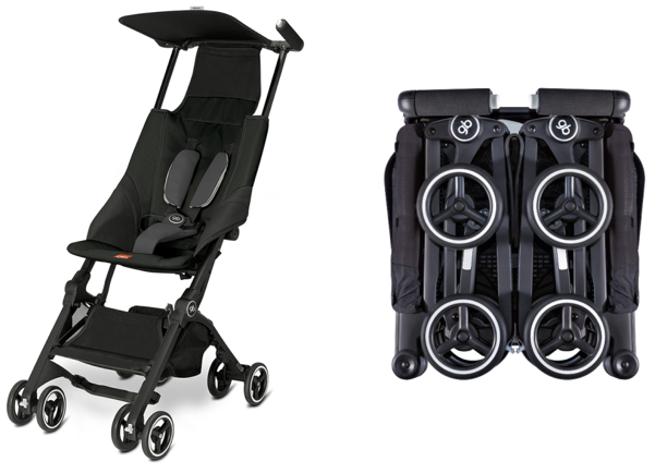 GB Pockit Stroller The World's Smallest Folded Stroller